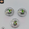 14.2mm1.42厘米加华司白磁贴布全音频超低音苹果耳机环保喇叭