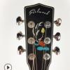 云杉桃花芯单板41寸JF桶型民谣吉他可贴牌琴行培训机构吉他批发
