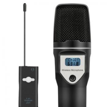 USB麦克风声卡无线电容麦克风专业K歌音响电脑直播话筒厂家直销