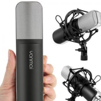 新款创意录音K歌电容麦克风 网络 热销主播直播设备套装 厂家批发