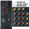 ZY-5066 电瓶音箱功放板 80W 大功率 拉杆音箱功放板带贴板
