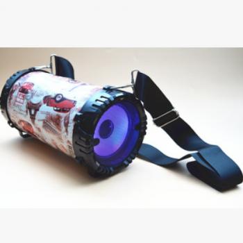 无线蓝牙音箱双喇叭户外便携式小型车载随身迷你小音响3d环绕小钢