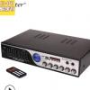 跨境专供金特kinter-K1 4声道220V家用功放带均衡调节/收音可插卡