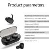 跨境专供 私模迷你5.0蓝牙耳机 无线运动触摸款隐形耳塞式耳机