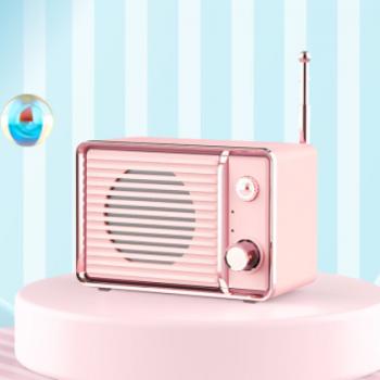 新款蓝牙音箱迷你复古便携式音响低音炮无线蓝牙创意礼品小音响