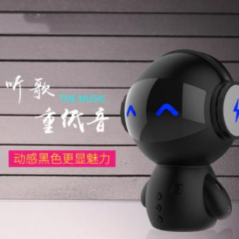 新款机器人蓝牙音箱低音炮手机户外插卡迷你电脑小音响创意礼品