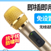 无线万能KTV话筒会议家用舞台唱歌户外音响功放专业卡拉OK麦克风