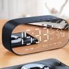 诺西 V5无线蓝牙音箱超重低音小钢炮插卡迷你电脑手机闹钟小音响