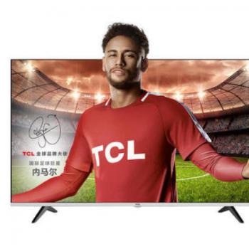 TCL 43T2F 43英寸超纤薄金属电视 全高清20核智能安卓液晶电
