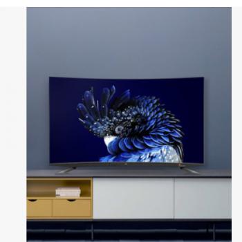 TCL 65Q960C 65英寸量子点超薄4K曲面HDR人工智能网络液晶电视机