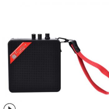 迷你吉他音箱 便携式小音响 MINI户外尤克里里音箱带蓝牙T卡5W