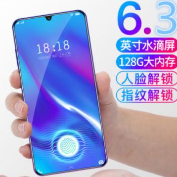 超薄X23水滴刘海屏全网通4G全面屏智能游戏手机学生指纹人脸移动