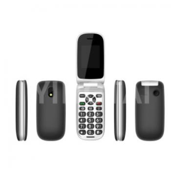 D46翻盖3G老人机 按键3G功能手机双屏超长待机老年人手机 外贸款