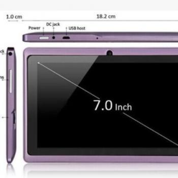 平板电脑7寸四核Q88H全志A33安卓4.4带wifi上网定制蓝牙厂家直销