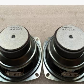 厂家现货供应4寸方形金刚60磁4欧25W重低音喇叭扬声器