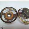 厂家供应100MM、4寸方形外磁60磁防水扩音/室外广播喇叭扬声器