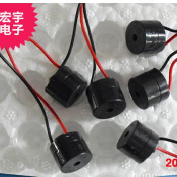 厂家专业制造 有源12V/24V引线 摩托车 转向器专用 蜂鸣器