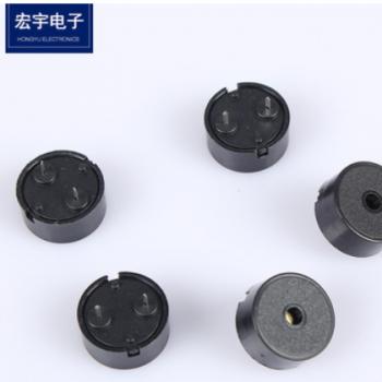电声器件厂家直销压电式1407无源蜂鸣器可定制单声道压电式蜂鸣器