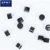 无源蜂鸣器12085电磁式无源蜂鸣器定制16欧黑色单声道无源蜂鸣器