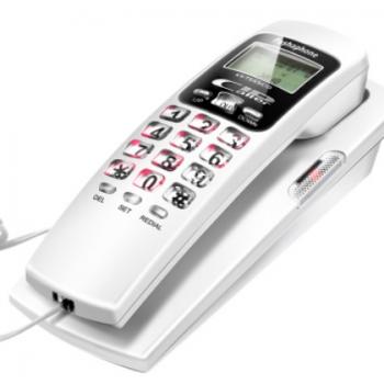 金顺来固定电话机来电显示座机家用壁挂式创意单机迷你小分机挂机