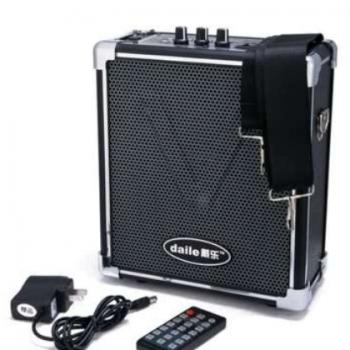 戴乐Q70 BT广场舞音响播放器便携无线充电插卡扩音器广告户外音箱