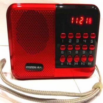老人收音机经典便携式迷你插卡小音箱 经典数字点歌音乐播放器