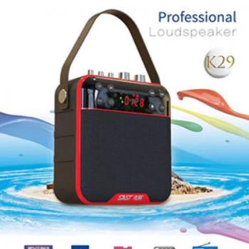 先科K29户外蓝牙音箱便携式扩音器小型户外手提式广场舞插卡音响
