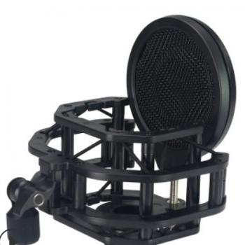 莱维特麦克风防震架240 249pro话筒桌面悬臂支架夹子电容麦防喷罩