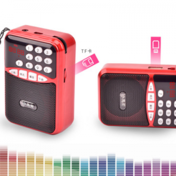 小马哥便携式插卡音箱老年唱戏机评书机MP3播放器迷你收音机直销