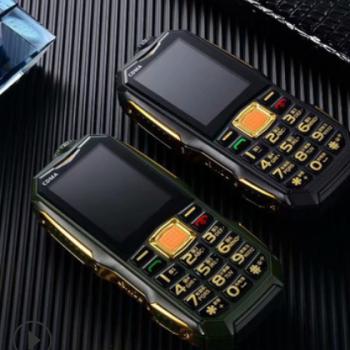 低价 电信三防手机 充电宝摄像头大字大声超长待机大电霸老人手机