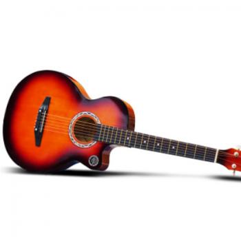 TLY 正品38寸民谣吉他 初学者木吉他 多色可选