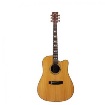 GW 41寸红松玫瑰木哑光面单 民谣吉他 初学者木吉他