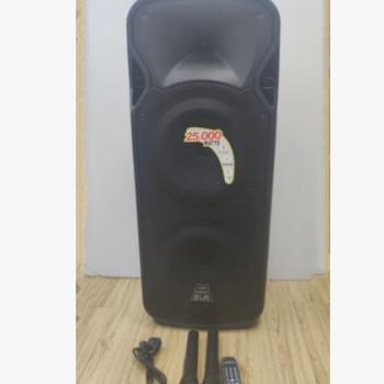 双12寸塑料电瓶音响,带蓝牙,遥控器,USB,双麦