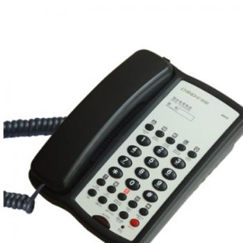 中诺B008固定电话机 酒店客房宾馆专用 单键记忆 R键功能