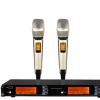 专业U段一拖二无线麦克风SKM-9000 KTV无线话筒专业演出 红外对频