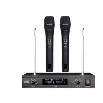 行音 无线话筒一拖二专业KTV麦克风户外婚庆家用无线麦克风