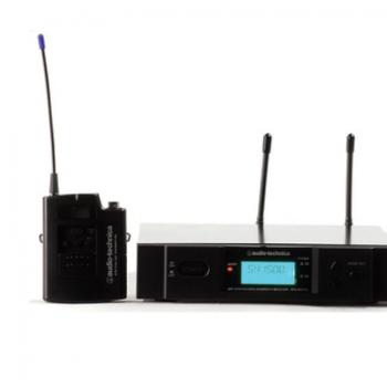 Audio Technica/铁三角 ATW2110主持演出讲课电容无线领夹麦克风