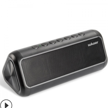 太阳能无线蓝牙音箱充电宝户外便捷音响移动电源黑科技电子产品
