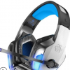 厂家直销Hunterspider V-4游戏耳机头戴式发光重低音手机音乐耳机