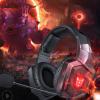 跨境爆款ONIKUMA K8头戴式耳机RGB有线手机电脑游戏耳机 音乐耳机