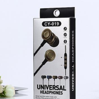 通用手机耳机CY-019 适用于苹果安卓国产 厂家批发