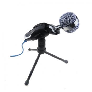 笔记本台式电脑麦克风话筒支架 K歌语音聊天录音直播话筒电容麦