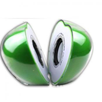水晶水果 电脑小音箱 USB音箱迷你可爱 电脑小音箱笔记本七彩光