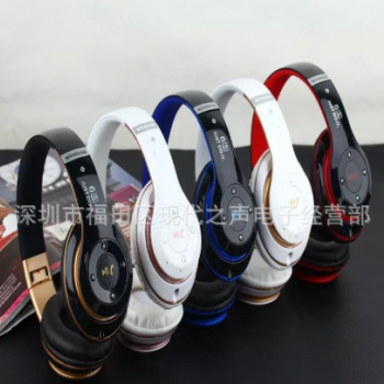 新款蓝牙耳机火爆上市 6S无线头戴式蓝牙耳机 立体声音 插卡耳机