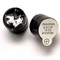 蜂鸣器 12V 有源蜂鸣器 电磁式 直插SOT塑封管 长声 12*9.5MM