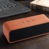 优悦声新款木质便携床头蓝牙音箱 FM收音 插卡音响 2200毫安电池