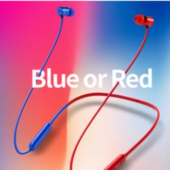 工厂直销亚马逊爆款耳机入耳式降噪蓝牙耳机磁吸挂脖运动蓝牙耳机