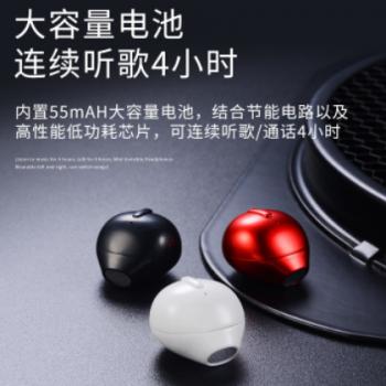 跨境爆款无线蓝牙耳机小迷你耳塞式单耳便携USB充电新款蓝牙耳机