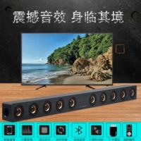 D90创意木质蓝牙音箱大功率回音壁音箱 家庭影院多媒体震撼低音炮
