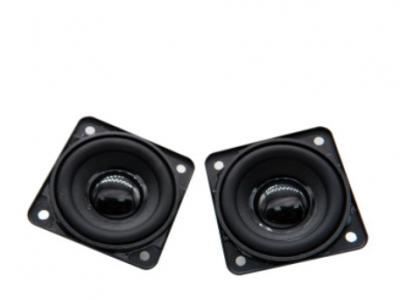 45mm方形 16芯 双磁 4欧5W多媒体喇叭 运动蓝牙小音箱喇叭